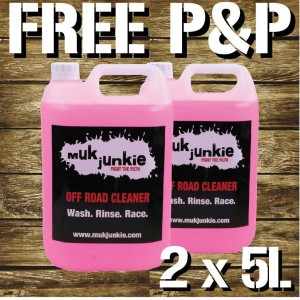 Special Offer - 2 x 5 litre Offroad Bike Cleaner including free* P & P